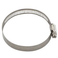 Hose Clamp air hose clamps - 10pcs Stainless Steel Hose Clamps Pipe Clamp Air Water Tube Clips Fit House Size mmmm