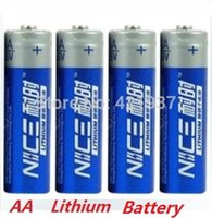 Wholesale Brand New SUPER Lithium iron Battery V Big Capacity AA Battery