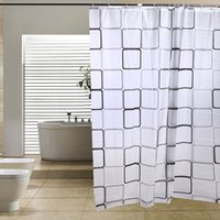 Wholesale HGHO Modern Bathroom Shower Curtains Long with Hooks x cm Inner Senses