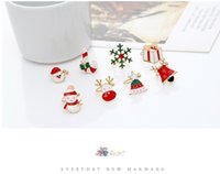 Wholesale 2016 Christmas gifts Girls gifts Fashion jewelry Santa Claus Ear clamp Christmas tree Ear buckle Ear Cuff Alloys