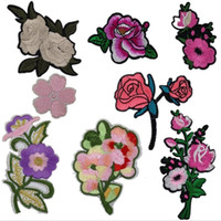 Wholesale New definition patch DIY embroidery patch clothes stickers custom cute decals sewing cloth paste