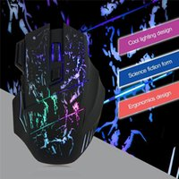 Wholesale 2016 Hot Sale Buttons colors LED Optical USB Wired Mouse Gamer Mice Computer Mouse Gaming Mouse For Pro Gamer