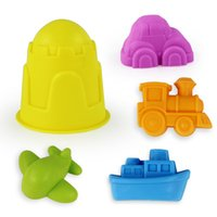 Wholesale Beach sand toys set outdoor funny colorful toy set For kid the best gift foe child No SC5043