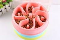 Wholesale Pet Fun Feeder Pet Dog Cat Food Slow Feeder Puppy Anti Choke Bowl