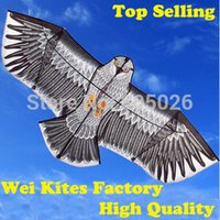 Wholesale with100m handle Line Outdoor Fun Sports m Eagle Kite high quality flying higher Big Kites wei kites factory