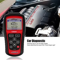 Wholesale OBD2 OBDII Car Scanner Diagnostic Too KW808 CAN Engine Reset Tool KONNWEI Code Reader Coverage Same as Maxiscan MS509 Auto Scanner Tool