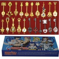 Wholesale Animation jewelry Fairy Tail set Magic make Lucy Star spirit key Lucy Cosplay Cartoon toys