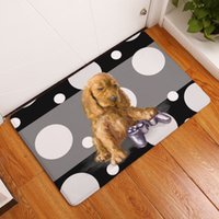Wholesale printed cat mat for toilet cozinha modern european style dog entrance welcome carpet bath bedroom rug