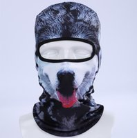 Wholesale 2017 Hot Sale D Cap Dog Animal Outdoor Sports Bicycle Cycling Motorcycle Masks Ski Hood Hat Veil Balaclava UV Full Face Mask