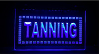TA05 Tanning Shop Sun Lotion bar pub club 3d signes led néon light sign artisanat de décoration intérieure