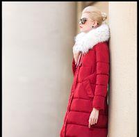 Wholesale 2016 New Long Female Women Winter Coat Thickening Cotton Winter Jacket Womens Outwear Parkas for Women Winter Outwear winter jacket women