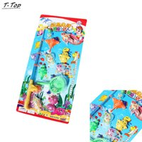 Wholesale Cute Colored Magnetic Fishing Sea Animals Catch Pull Funny Toys With Fishes For Kid Parent Game
