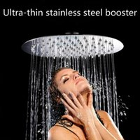 Wholesale Shower Head Square Chuveiro Stainless Steel Ultra thin Rainfall Shower Head Rain Pressurized