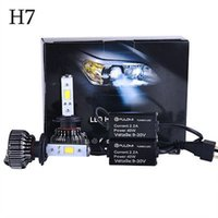 Wholesale 80W LM H7 CREE LED Lamp Headlight Kit Car Beam Bulbs V Upgrade k New Hot sell Nice HIGH Quality Popular