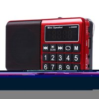 Wholesale L SW Portable Mini MW FM Radio USB Music Speakers Digital Multifunctional Full Band Radio Player Receiver Support MP3 TF Card