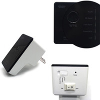 Wholesale 2016 New Dual Band Wireless Wifi Repeater Router Range Extender N Booster Signal Amplifier wlan EU US