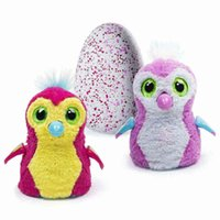 Wholesale Free DHL Hatchimals PENGUALA Pink Teal Pink Ye llow Hatchimal Egg Sold Out New Christmas Gifts For Kids