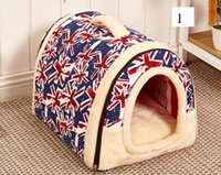 Wholesale New Pet Supplies Dog Kennel Fashion Detachable Arc House Durable and Easy to Clean Dog Houses M EC