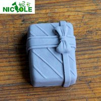 Wholesale Nicole R0104 gift box craft candle mold candle silicone mold Chocolate Mold