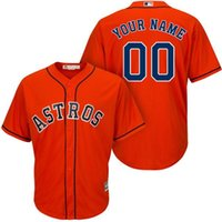 astros for sale - Men s Houston Astros Custom Orange White Baseball Jersey clothing cheap giants Order For Sale Size M L XL XXL XXXL