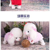 Wholesale Electric toy dog will call the voice will go intelligent simulation moving toy electronic pet dog dog baby