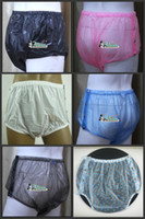 Wholesale 10 pieces ADULT BABY diaper incontinence PLASTIC PANTS P004 Full Size