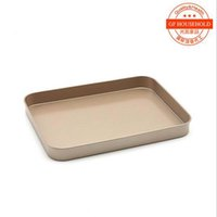 Wholesale Bakeware Golden inch X18 X2 cm rectangle Baking Dishes Cake baking pan FDA high grade coating