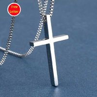 Wholesale Boys Pendants Necklaces Men Healthy Pendant Necklace Christmas Party Gift For Friends New Fashion Product