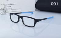 Los vidrios de los deportes de la marca de fábrica enmarcan los vidrios de los vidrios de las lentes de la manera TR90 de los hombres que completan un ciclo el marco óptico de la memoria de la computadora