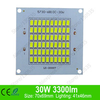 aluminum base board - W lm x69mm LED PCB with smd for floodlight aluminum base plate floodlight board with leds led lamps bead