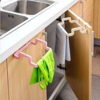 Wholesale Kitchen Cabinet Hanging Rubbish Bag Holder Garbage Storage Rack Cupboard Hanger Your Best Choice
