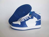 air storm - Drop Shipping Air Retro High OG Storm Blue Men Basketball Shoes Top Quality With Box