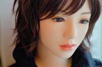 Juguetes adultos de las muñecas del sexo oral con un himen, muñeca inflable del amor de la muñeca del sexo de la muñeca del sexo del japonés para los muñecos del sexo del silicón del tamaño de la vida de los hombres dhl Shippi libre