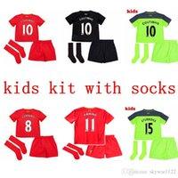 Wholesale 2016 liverpool2007 rd jerseys kids Jersey socks GERRARD LALLANA LUCAS COUTINHO FIRMINO STURRIDGE MANE Football Shirt camisetas de futbol