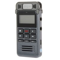 audio multi output - Newest Zinc Alloy Multi Function LCD Display GB Digital Voice Recorder Dictaphone Audio Output MP3 Player
