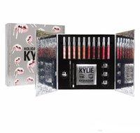 al por mayor artículos de regalo-EDICIÓN LIMITADA CALIENTE Kylie Cosmetics CASA DE VACACIONES Kylie Jenner Edición de Navidad Artículos Regalos de Navidad dhl libre