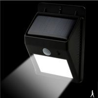 Wholesale Solar saving energy Motion Sensor PIR Floodlights outdoor wall lighting LED Wall Lamp leds leds leds leds