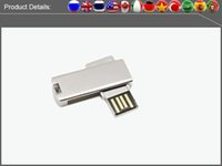 Wholesale Factory full capacity USB Flash Drives GB GB GB GB Memory Stick USB Flash Drive high quality chip and high speed metal