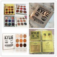 Wholesale in stock style kyshadow style christmas edition holiday edition eyeshadow regular kyshadow burgundy eye shadow palette Kylie jenner