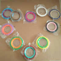 Wholesale ABS PLA Filament mm Colors M for D Printer D Printing Pen Reprap Wanhao Makerbo with d printer parts
