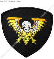 animated space movie - Warhammer k Imperialis Space Marine Legion Campaign Animated Movie TV Series Costume Woven Emblem applique iron on patch