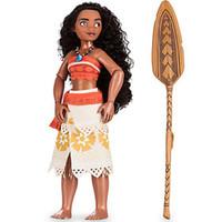 Cheap Unisex figures toys Best 5-7 Years Plastic Moana