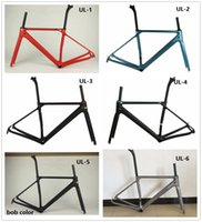 Wholesale Many color Ultimate CF SLX carbon fibre road bike frame fork clamp seatpost Carbon Road bicycle Frame g CF SLX