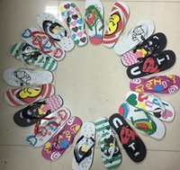 Wholesale The new summer lovers PE flip flops cartoon ms clip toe is cool procrastinate inventory slippers