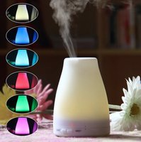 Wholesale 120ml Essential Oil Diffuser Portable Aroma Humidifier LED Night Light Ultrasonic Cool Mist Fresh Air Spa Aromatherapy