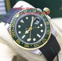 El nuevo 116713 esfera verde Asia 2813 movimiento 40 mm gmt verde bisel de cerámica Hombres Relojes Nueva llegada