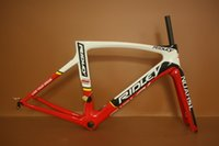 Wholesale 2017 ridley new color Carbon Bike Frame PF30 include Frame Fork Seatpost Clamp Headset UD weave Carbon Road Bike Frames