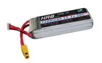 Batería del lipo de HRB RC 11.1V 2600mah 35C para los helicópteros de RC Aviones del coche Drone FPV Parts Accessories
