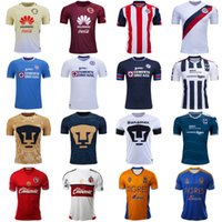 Wholesale Camiseta de liga Mx soccer jerseys mexico club america chivas guadarajiara cruz azul tigres uanl xolos tijuana leon santos laguna monterrey