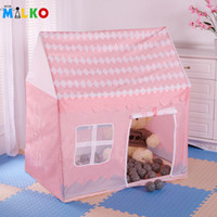 baby lodge - Hot Tipi Tent For Children Kid Teepee Toy Tent Baby Play Game House Balls Pool Play Yard Playpens Portable Tente Enfant Lodge